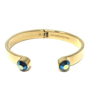 Kate Spade Forever Gems Blue Gold Plated Bracelet